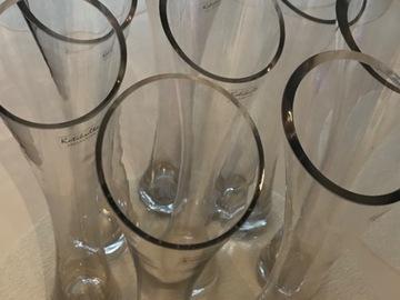Ilmoitus: Kirkkaat lasimaljakot 8 kpl