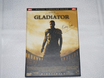Vente: DVD du célèbre film Gladiator