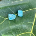 Selling with online payment: Empress Drip Amazonite  Earrings
