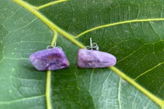 Selling with online payment: Empress Drip Charoite Earrings