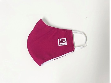 Buy Now: 100 Ct 3-PLY Reusable Cloth Face Mask (RED)