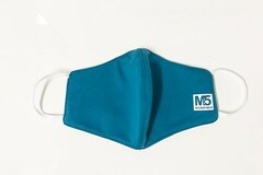 Liquidation/Wholesale Lot: 100 Ct 3-PLY Reusable Cloth Face Mask (GREEN)