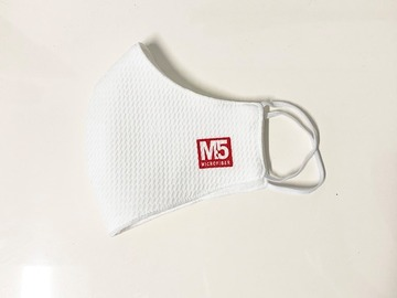 Buy Now: 100 Ct 2-PLY Reusable Cloth Face Mask (WHITE)