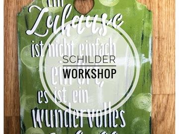 Workshop Angebot (Termine): Schild-Workshop