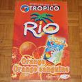Vente: Panneau publicitaire de la marque TROPICO RIO