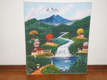 Vente: Toile d'artisite peinte au Salvador