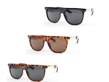 Liquidation/Wholesale Lot: Dozen Retro Wayfarer Fashion Design Sunglasses