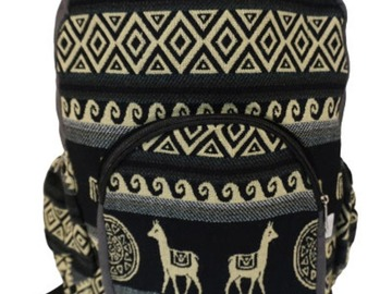 Selling with online payment: Bohemian/Hippie Travel Backpack