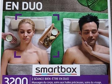 """Vente: Smartbox """"Soins et Détente en Duo"""" (69,90€)"""