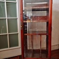 Selling without online payment: Rosewood Revolving Glass Cabinet