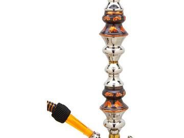 """Post Now: Khalil Mamoon Oxidized Medium Trimetal Hookah 35"""""""