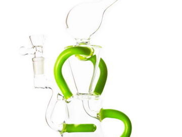 Post Products: Jet Perc Dual Arm Recycler Dab Rig