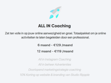 Advertentie: Social Media Coaching