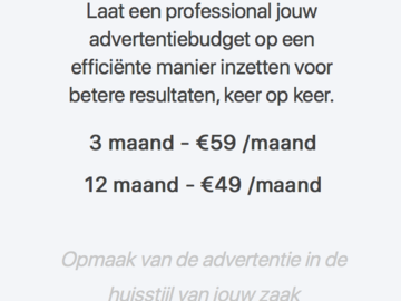 Advertentie: Adverteren via Google
