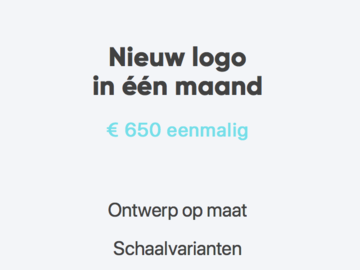 Advertentie: Logo Design / Branding