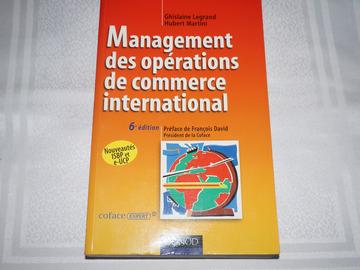 Don: Le management des opérations de commerce international