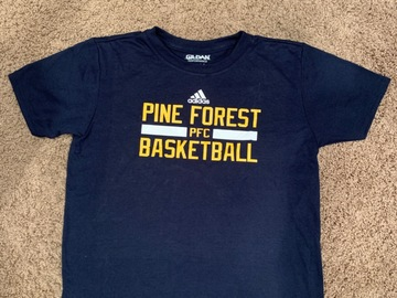 Selling A Singular Item: Brand New Pine Forest Basketball Performance Tee