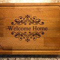 Selling with online payment: Laser Engraved Cutting Board