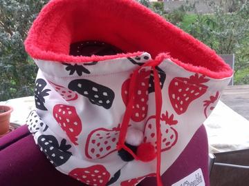 Sale retail: Tour de cou fraises
