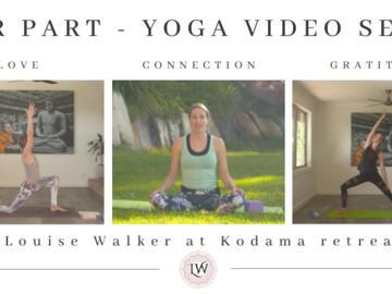 Programs: Connection: Love: Gratitude: Mind - Four Part At Home Yoga Series