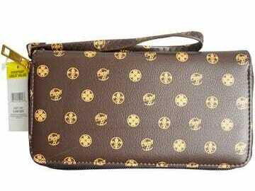 Buy Now: Women Assorted Floral/Brown Wallets (Lot Retails $2,800)