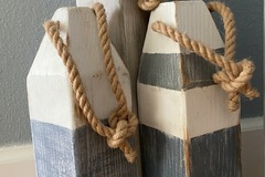 Selling with online payment: Wood Buoy