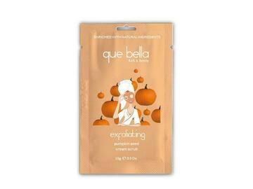 Buy Now: Que Bella Exfoliating Pumpkin Seed Cream Scrub 0.5oz