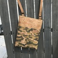 Selling with online payment: Camo Cork Crossbody Bag