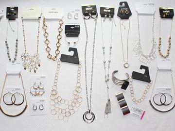 Liquidation/Wholesale Lot: 50 Piece Name Brand Pot Luck Grab Bag Jewelry Lot $1000+ Value