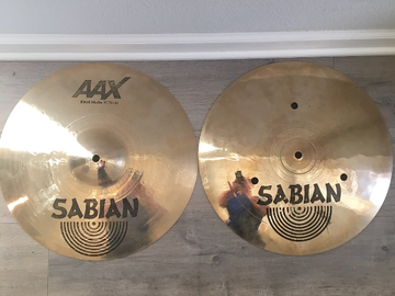 """Selling with online payment: Sabian AAX Fast Hi Hats 14"""""""