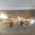 Selling with online payment: Sabian AAX Fast Hi Hats 14""