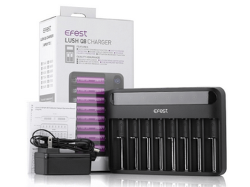 Post Products:  Efest Lush Q8 8-Slot Intelligent Battery Charger