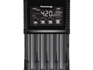 Post Products:  Pownergy BIA- 4 Bay Charging Station