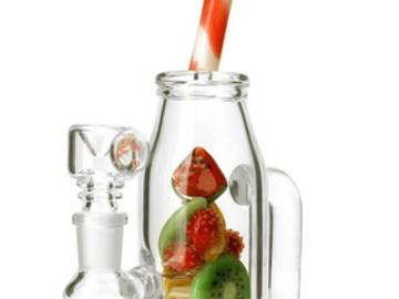 Post Products: Empire Glassworks Mini Watermelon & Orange Drink Rig