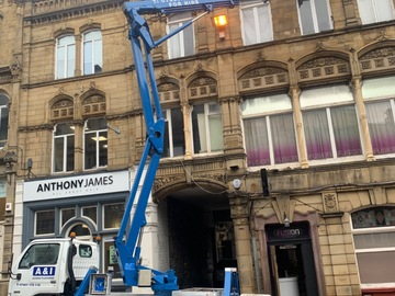 Hourly Equipment Rental: Cherry picker available for hire