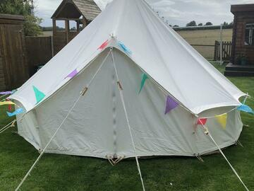 Renting out with online payment: Bell Tent 4m