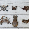 Selling with online payment: Rustic Nautical Magnets