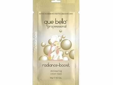 Buy Now: Que Bella PRO Radiance Boost Shimmering Cream Mask 0.5oz