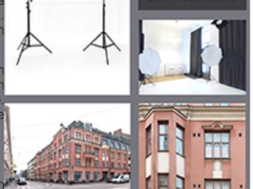 Renting out: Siisti valkoinen studio/työhuone/yoga tila noin 50m2 Kalevankatu