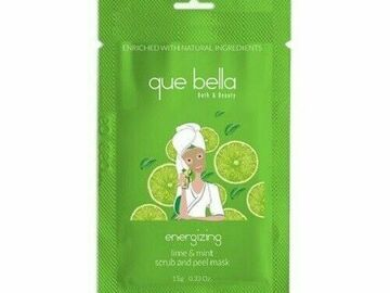 Buy Now: Que Bella Lime & Mint Gel Scrub & Peel Mask- .5 Oz.