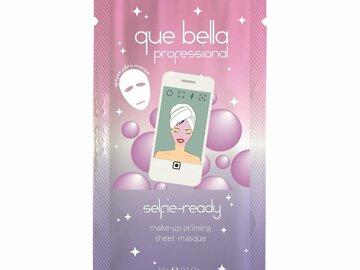 Liquidation/Wholesale Lot: Que Bella Selfie Ready Make Up Priming Facial Sheet – .5 Oz
