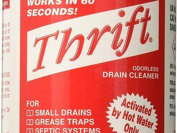Buy Now: (12 Pack) THRIFT Alkaline Based 2 lb. Granular Drain Cleaner