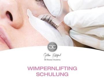Schulung / Kurs: ONLINE-LIVE Wimpernlifting Schulung + GRATIS Browlifting Schulung