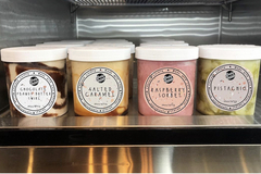 Selling with online payment: Fresh Gelato Pints