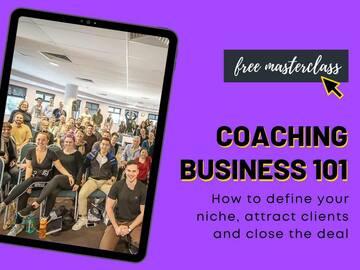 Free Products: Free Masterclass: Coaching Business 101