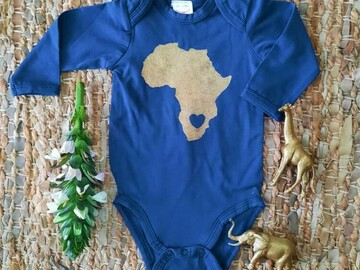 For Sale: Baby Africa Onesie