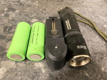 Myydään: Powerful Camping and Emergency Flashlights