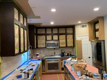 Offering without online payment: Jesus Montero House Kitchen Cabinet Painters in Mission Viejo