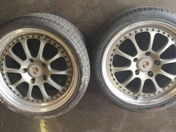 Selling: Porsche Fitment Kinesis K-18's