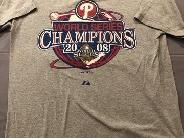 Selling A Singular Item: World Series Champion Shirt